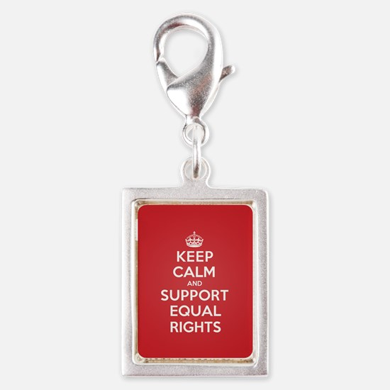 K C Support Equal Rights Charms