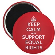"K C Support Equal Rights 2.25"" Magnet (10 pack)"
