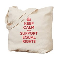 K C Support Equal Rights Tote Bag
