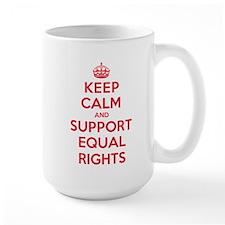 K C Support Equal Rights Mug