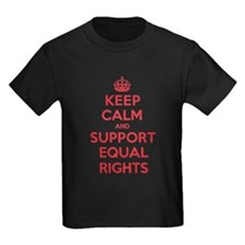 K C Support Equal Rights T-Shirt