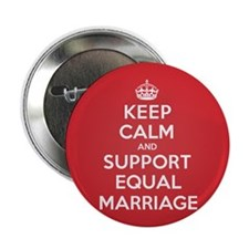 "K C Support Equal Marriage 2.25"" Button"