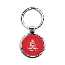 Keep Calm Gangnam Keychains