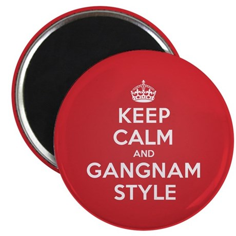 "Keep Calm Gangnam 2.25"" Magnet (10 pack)"