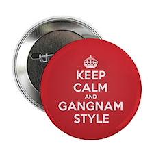 "Keep Calm Gangnam 2.25"" Button"
