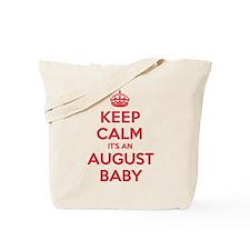 K C August Baby Tote Bag