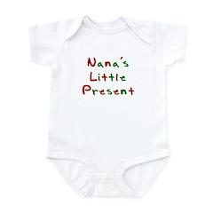 Nana's Little Present Infant Bodysuit