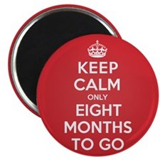 """K C eight Months 2.25"""" Magnet (10 pack)"""