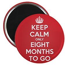 K C eight Months Magnet