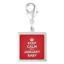 K C January Baby Charms