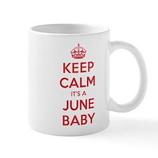 K C June Baby Mug