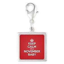 K C November Baby Charms