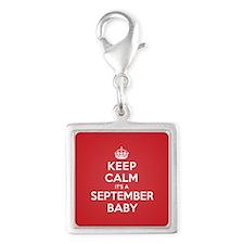 K C September Baby Charms