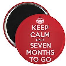 """K C seven Months 2.25"""" Magnet (100 pack)"""