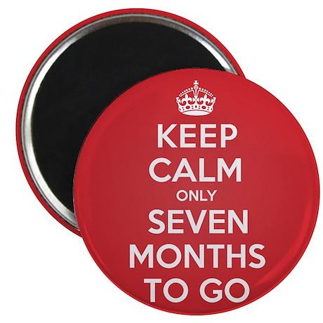 """K C seven Months 2.25"""" Magnet (10 pack)"""