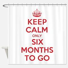 K C Six Months Shower Curtain
