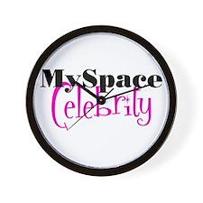 MySpace Celebrity Wall Clock