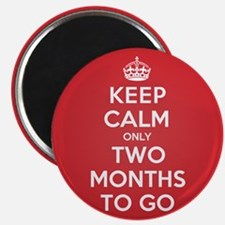 K C two Months Magnet
