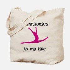 Gymnastics is My Life Tote Bag