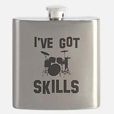 Drums Designs Flask
