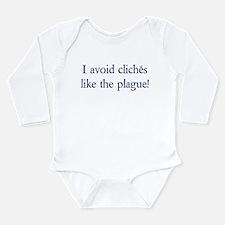 Write on Long Sleeve Infant Bodysuit