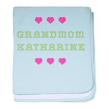 Grandmom Katharine baby blanket