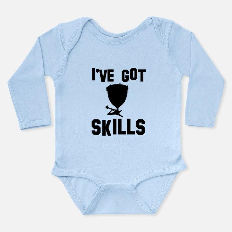 Timpani Designs Long Sleeve Infant Bodysuit
