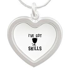 Timpani Designs Silver Heart Necklace