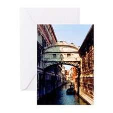 Bridge of Sighs Greeting Cards (Pk of 10)