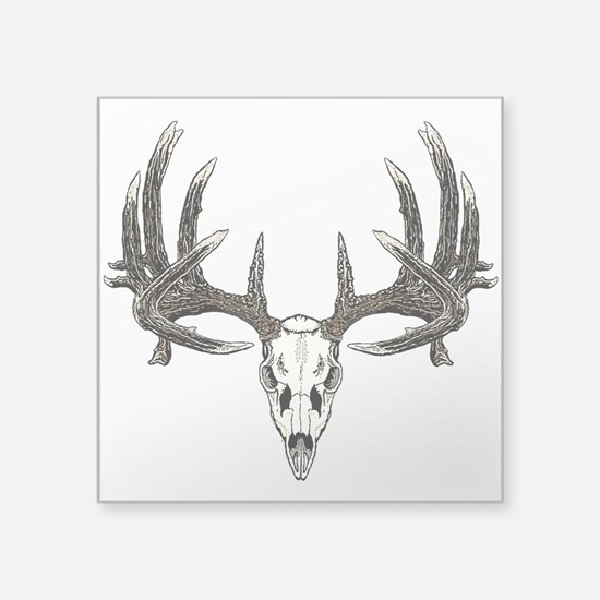 Whitetail skull Sticker