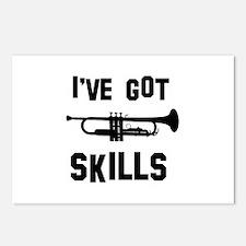 Trumpet Designs Postcards (Package of 8)