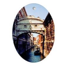 Bridge of Sighs Oval Ornament