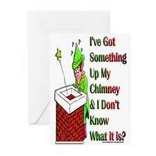 Up My Chimney Greeting Cards (Pk of 10)