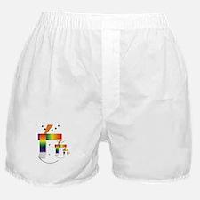 PRIDE SNOWMEN Boxer Shorts