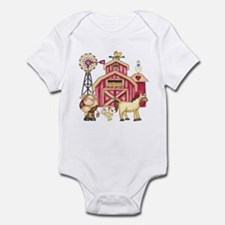 Farm Animals Infant Bodysuit