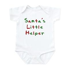 Santa's Little Helper Infant Bodysuit
