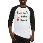 Santa's Little Helper Baseball Jersey