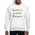 Santa's Little Helper Hooded Sweatshirt