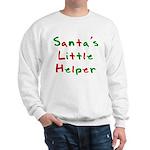 Santa's Little Helper Sweatshirt