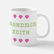 Grandmom Edith Mug