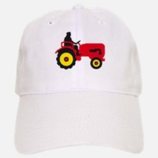 farmer with a tractor Baseball Cap