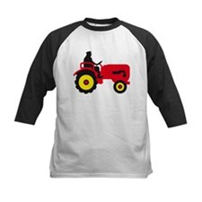 farmer with a tractor Baseball Jersey