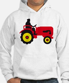 farmer with a tractor Hoodie