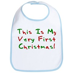 This Is My Very First Christm Bib
