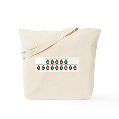 Merry Christmas - Lights Tote Bag