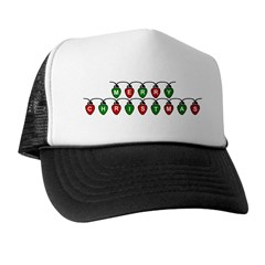 Merry Christmas - Lights Trucker Hat