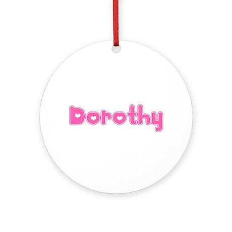 """Dorothy"" Ornament (Round)"