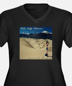 Take only pictures. Leave only footprints. Women's