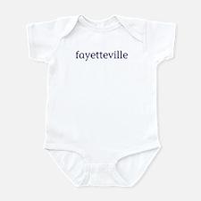 Fayetteville Infant Bodysuit