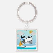 ABH San Juan Square Keychain